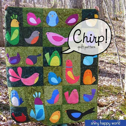 Learn to applique in three different ways with this fun quilt pattern.