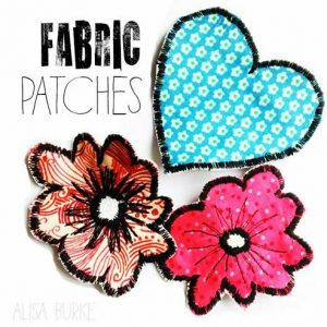 Fabric Patches – Free Sewing Tutorial