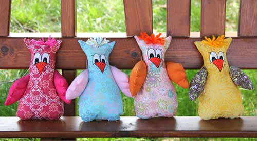 Free Sewing Pattern and Tutorial - Greta the Owl
