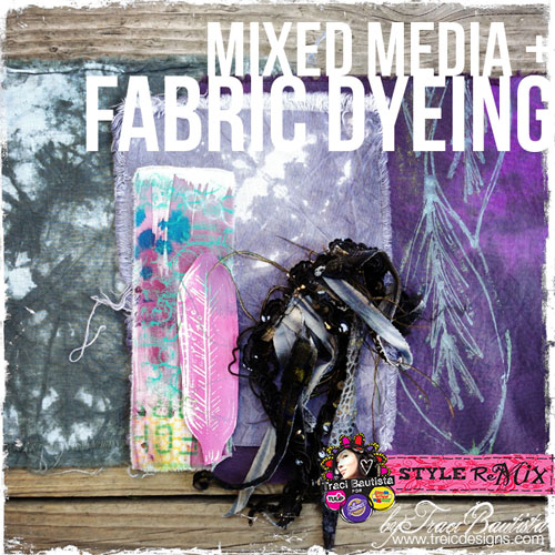 Free Surface Design Video Tutorial - Creative Fabric Dyeing and Fabric Painting