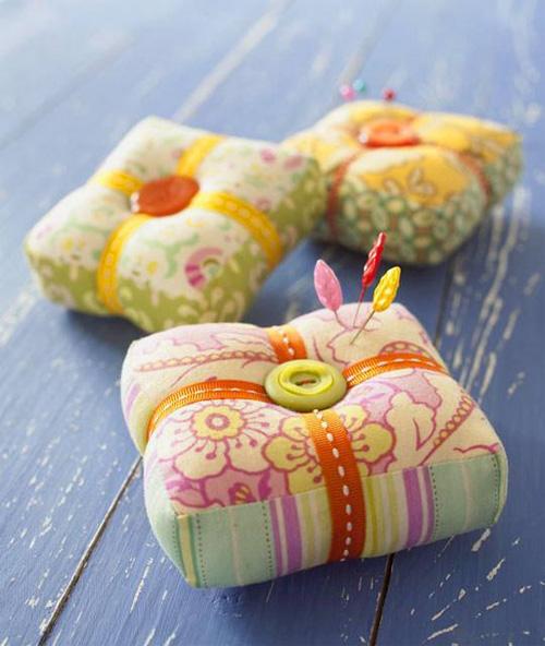Six Free and Creative Pincushion Patterns