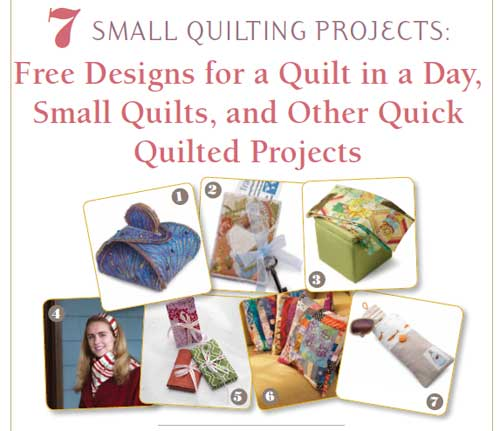 Free Ebook Quick Quilted Projects Love To Sew