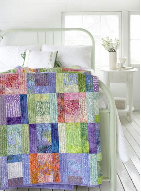 Splashes of Color Quilt - Free Quilt Pattern