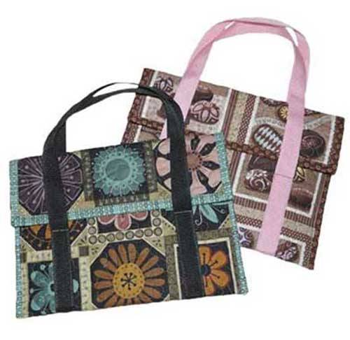 Keep your favorite ereader safe when you carry it around using this stylish quilted bag made just for an iPad.