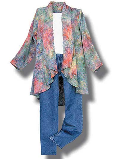 This versatile jacket is easy to make and fun to wear