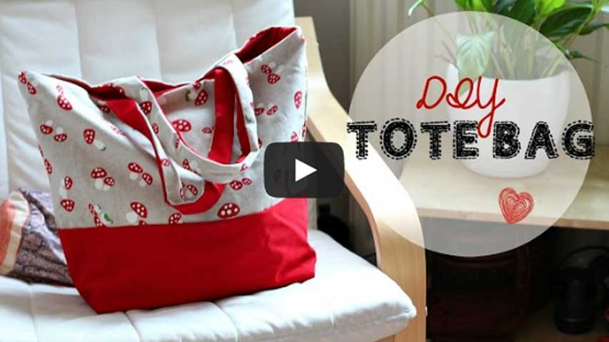 Sewing for Beginners – Simple Tote Bag