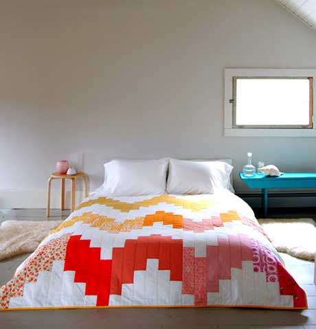 Free Quilt Pattern and Tutorial - Wedding Quilt Pattern
