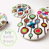 12 Fun & Creative Button Tutorials: Make em and Use em