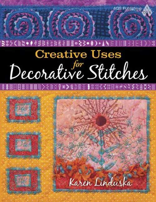 Take your quilts to the next level of creativity and learn to embellish them using the decorative stitches that are built into your sewing machine.