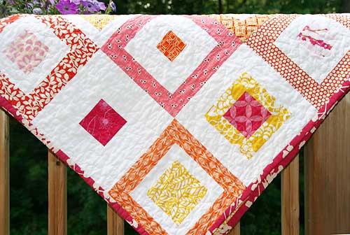 Lemon Squares Quilt - Free Quilt Pattern