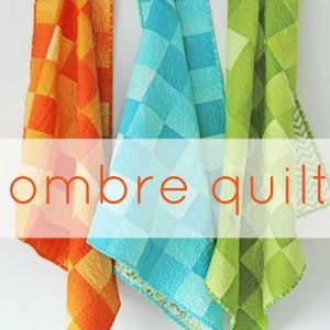 Ombre Quilt – Free Quilting Tutorial