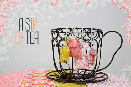 Scented Tea Sachet – Free Sewing Tutorial