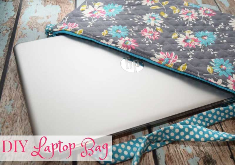 Free Bag Pattern and Tutorial - Back to School Laptop Bag