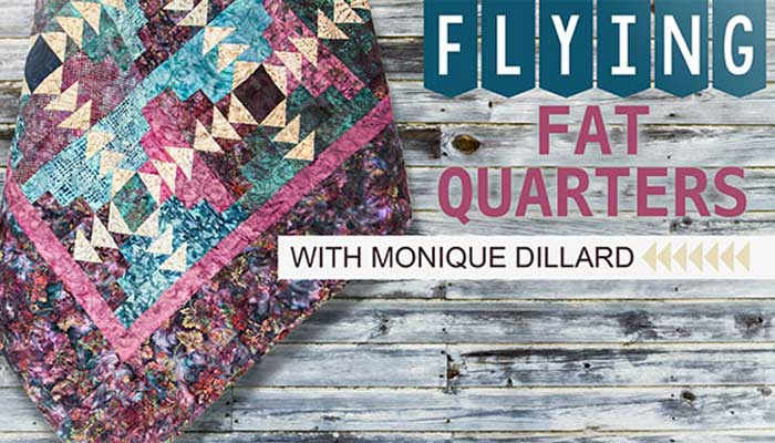 Flying Fat Quarters Online Class
