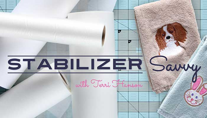 Stabilizer Savvy: Online Sewing Class
