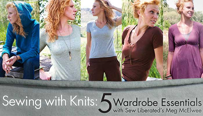Sewing With Knits Online Sewing Class