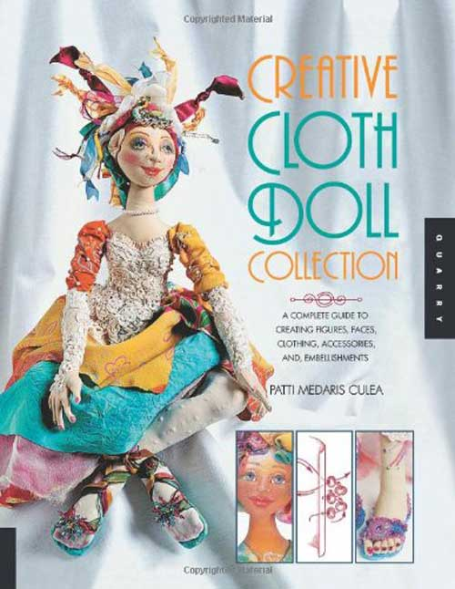 Learn the basics of creating cloth figures and includes complete patterns to create several styles of dolls.