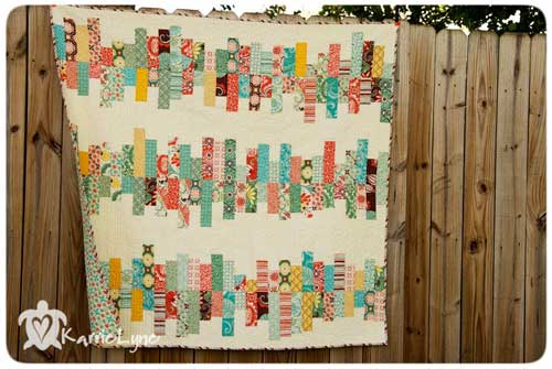 Random Reflections Quilt - Free Quilt Tutorial