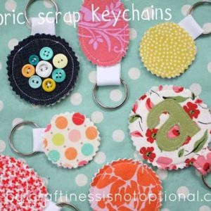 Scrap Key Chain – Free Sewing Tutorial