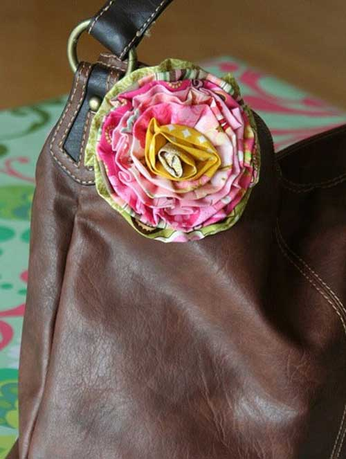 Free Sewing Pattern and Tutorial - Scrappy Strip Rose
