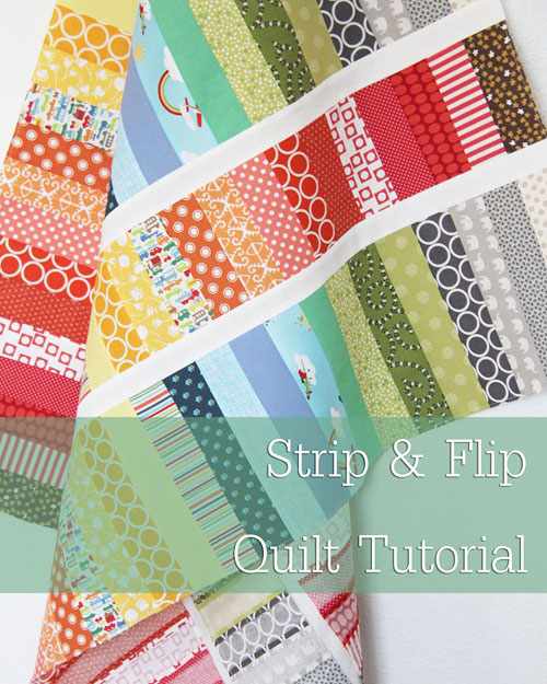 Free Quilt Pattern - Strip and Flip Baby Quilt