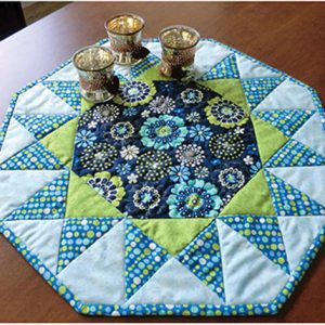 Sunburst Quilted Table Topper Pattern