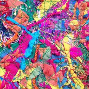 How to Make Fabric from Scraps