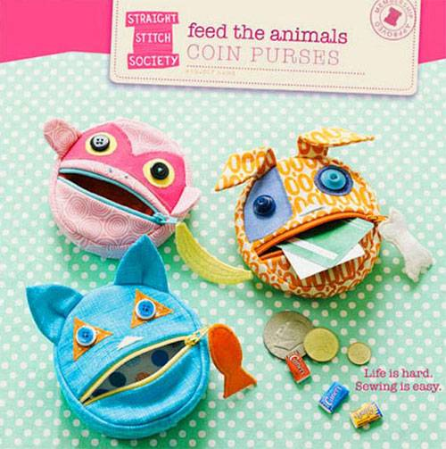 Feed the Animals Coin Purse Pattern