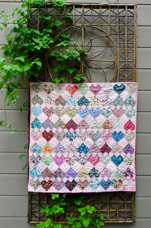 Head Over Heels Quilt - Free Quilting Tutorial