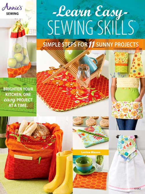 Beginning with basic explanations and easy practice exercises, build your basic sewing skills to become a skilled sewer.