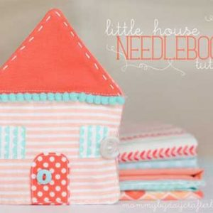 Little House Needlebook – Free Sewing Tutorial