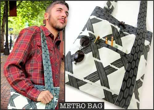 Free Bag Pattern and Tutorial - Metro Bag