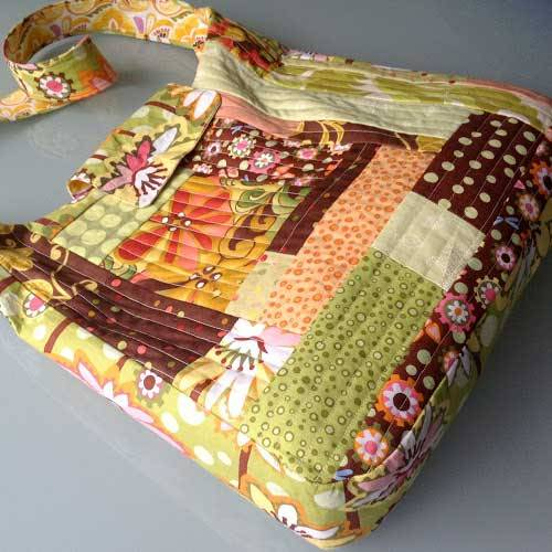 Free Bag Pattern and Tutorial - Patchwork School Bag