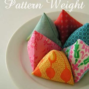 Fabric Pattern Weights – Free Sewing Tutorial