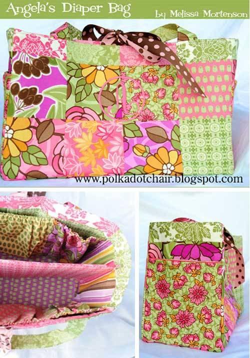 Angela's Diaper Bag - Free Sewing Tutorial