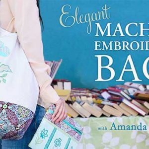 Elegant Machine Embroidered Bags Online Class