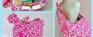 Pretty Bird Quick Trip Diaper Bag – Free Sewing Tutorial
