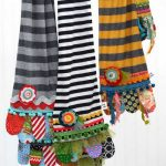Scrappy Happy Scarves Sewing Pattern