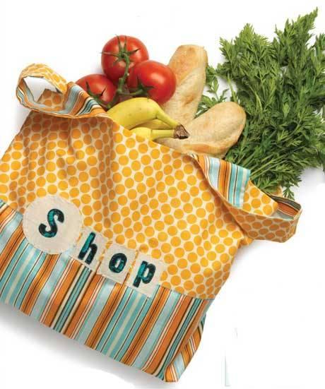 Artful Eco Bag - Free Sewing Pattern