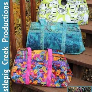 The Big Easy Expanding Tote Sewing Pattern