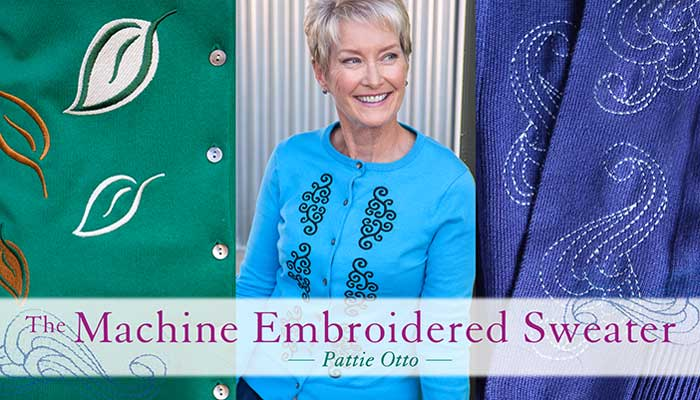 The Machine Embroidered Sweater Online Class