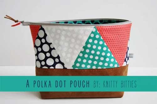Polka Dot Pouch