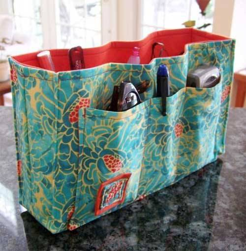 Purse Organizer Insert With Adjustable Divider – Free Sewing Pattern