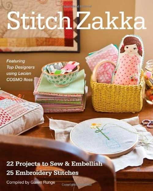 Featuring 22 embroidery projects with a contemporary flair.