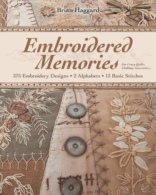 A rich compendium bursting with hundreds of embroidery designs.