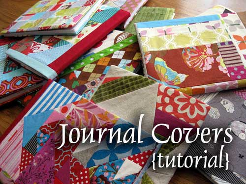 6 Free Fabric Book Cover Tutorials
