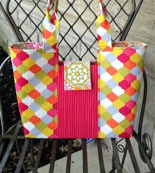 This bag is fun and easy to make.