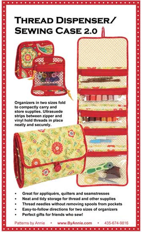 Thread Dispenser Sewing Case Pattern