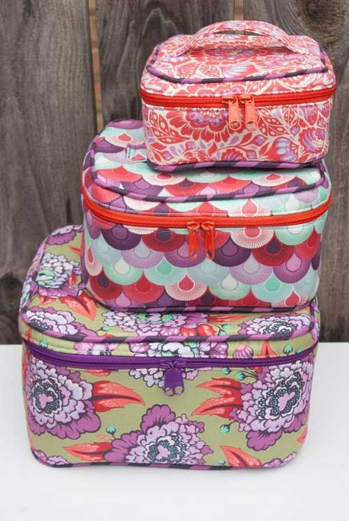 These bags are just the right size for storing and organizing make-up, sewing supplies, or other small findings.