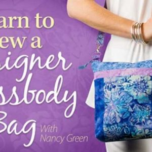 Learn to Sew a Designer Crossbody Bag Online Class